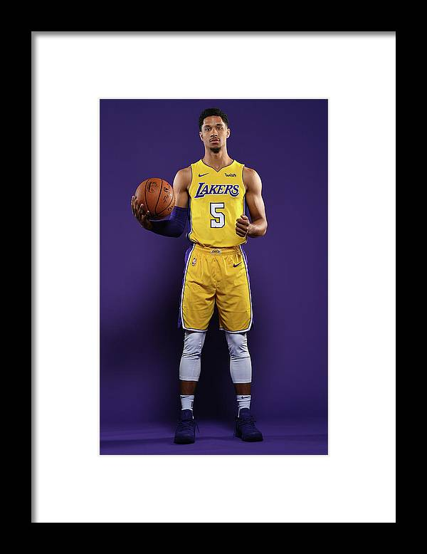 Media Day Framed Print featuring the photograph Josh Hart by Aaron Poole