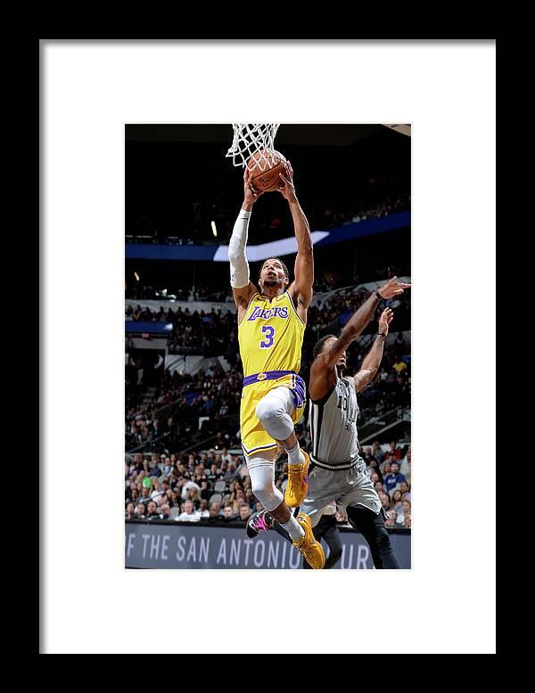 Nba Pro Basketball Framed Print featuring the photograph Josh Hart by Mark Sobhani