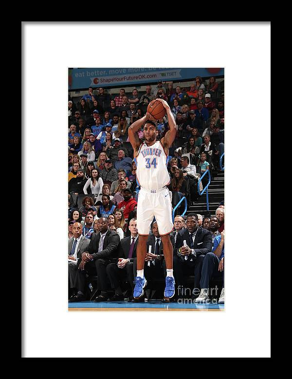 Nba Pro Basketball Framed Print featuring the photograph Josh Huestis by Layne Murdoch