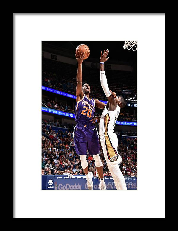 Smoothie King Center Framed Print featuring the photograph Josh Jackson by Bill Baptist