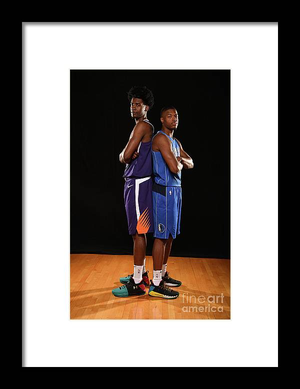 Nba Pro Basketball Framed Print featuring the photograph Josh Jackson by Brian Babineau