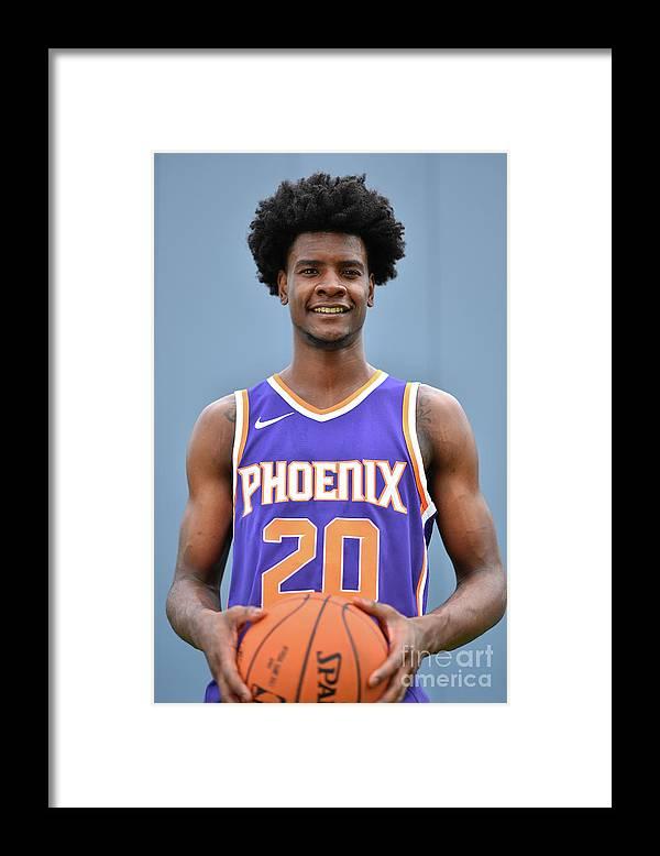Nba Pro Basketball Framed Print featuring the photograph Josh Jackson by Jesse D. Garrabrant