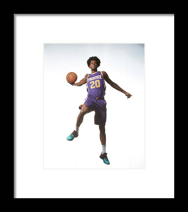 Nba Pro Basketball Framed Print featuring the photograph Josh Jackson by Nathaniel S. Butler