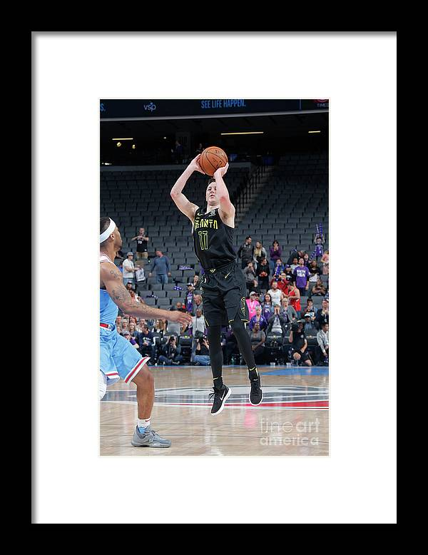 Nba Pro Basketball Framed Print featuring the photograph Josh Magette by Rocky Widner