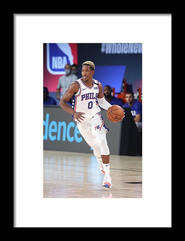 Nba Pro Basketball Framed Print featuring the photograph Josh Richardson by Joe Murphy