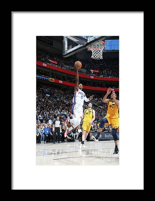 Nba Pro Basketball Framed Print featuring the photograph Josh Richardson by Melissa Majchrzak