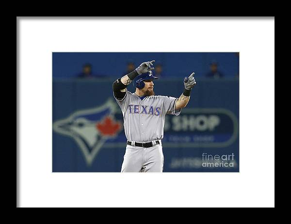 Three Quarter Length Framed Print featuring the photograph Josh Rogers by Vaughn Ridley