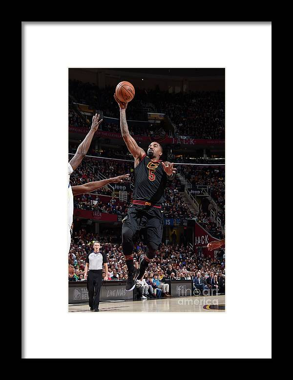 Nba Pro Basketball Framed Print featuring the photograph J.r. Smith by David Liam Kyle