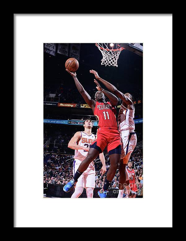 Nba Pro Basketball Framed Print featuring the photograph Jrue Holiday by Michael Gonzales