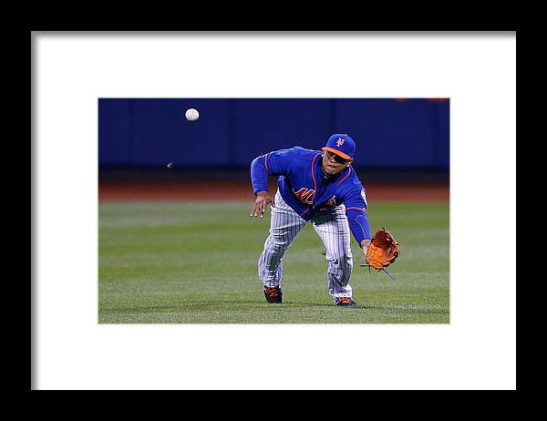 People Framed Print featuring the photograph Juan Lagares by Mike Stobe