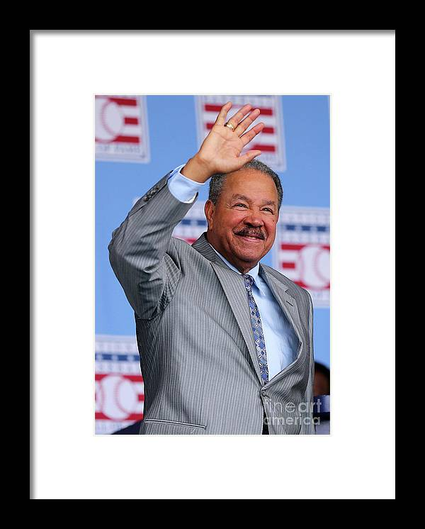 People Framed Print featuring the photograph Juan Marichal by Elsa