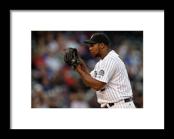 Working Framed Print featuring the photograph Juan Nicasio by Doug Pensinger