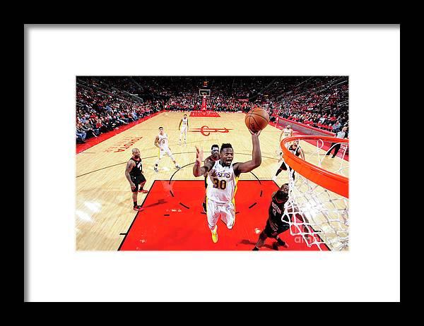 Nba Pro Basketball Framed Print featuring the photograph Julius Randle by Bill Baptist