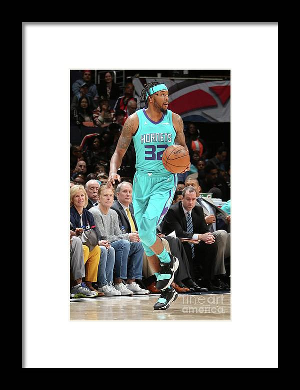 Nba Pro Basketball Framed Print featuring the photograph Julyan Stone by Ned Dishman
