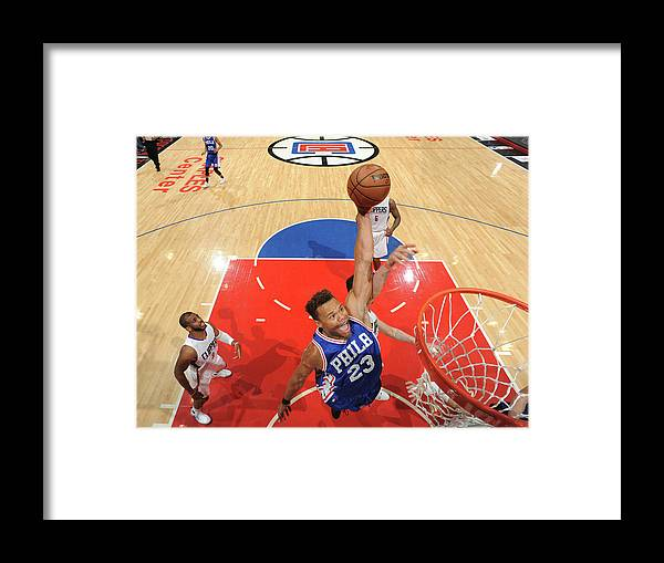 Nba Pro Basketball Framed Print featuring the photograph Justin Anderson by Andrew D. Bernstein