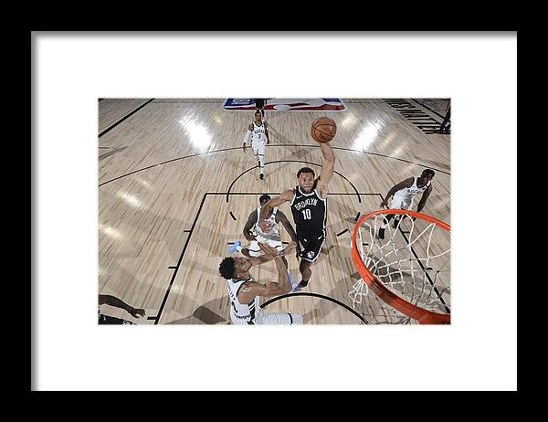 Nba Pro Basketball Framed Print featuring the photograph Justin Anderson by David Dow