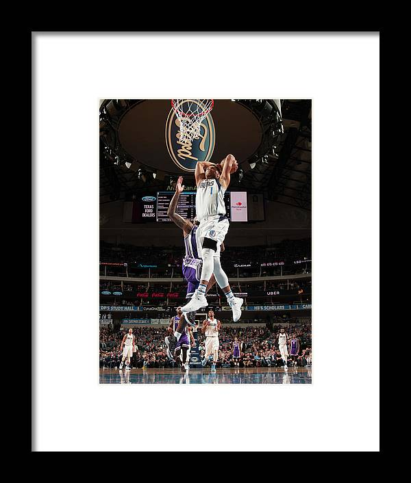 Nba Pro Basketball Framed Print featuring the photograph Justin Anderson by Glenn James