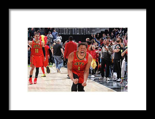 Atlanta Framed Print featuring the photograph Justin Anderson by Jasear Thompson