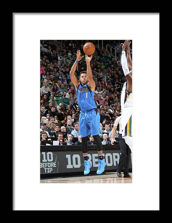 Nba Pro Basketball Framed Print featuring the photograph Justin Anderson by Melissa Majchrzak