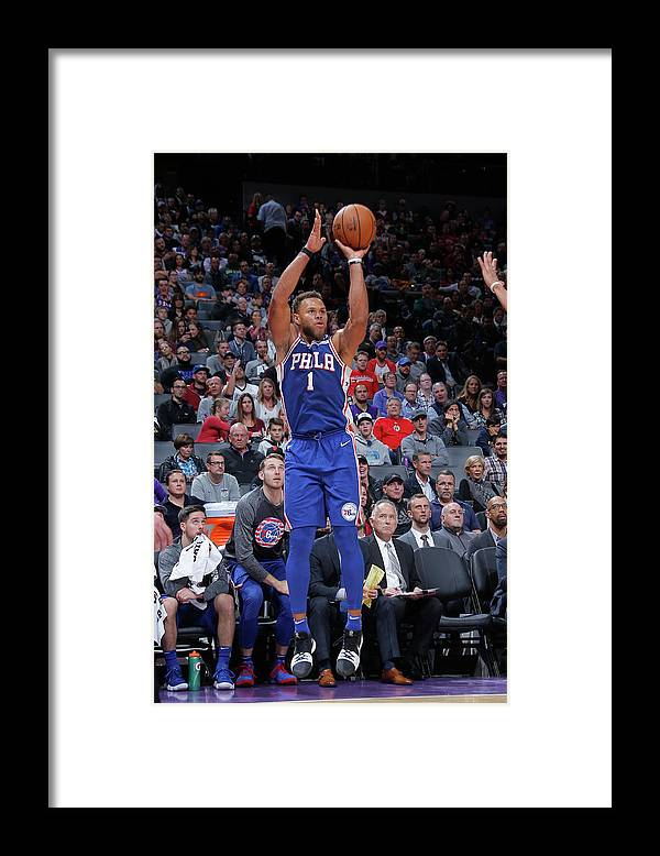 Nba Pro Basketball Framed Print featuring the photograph Justin Anderson by Rocky Widner