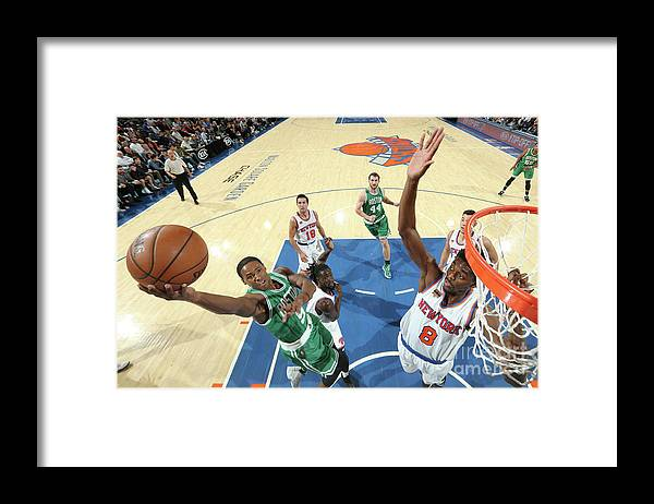 Nba Pro Basketball Framed Print featuring the photograph Justin Holiday and Demetrius Jackson by Nathaniel S. Butler