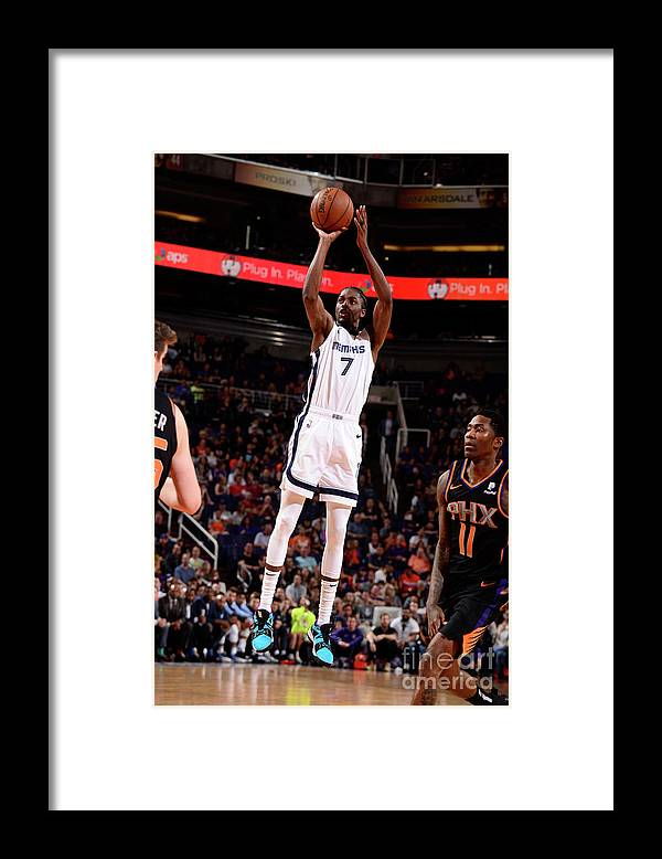 Nba Pro Basketball Framed Print featuring the photograph Justin Holiday by Barry Gossage