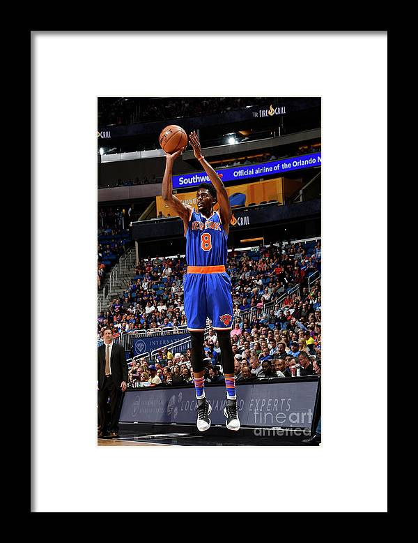 Nba Pro Basketball Framed Print featuring the photograph Justin Holiday by Fernando Medina