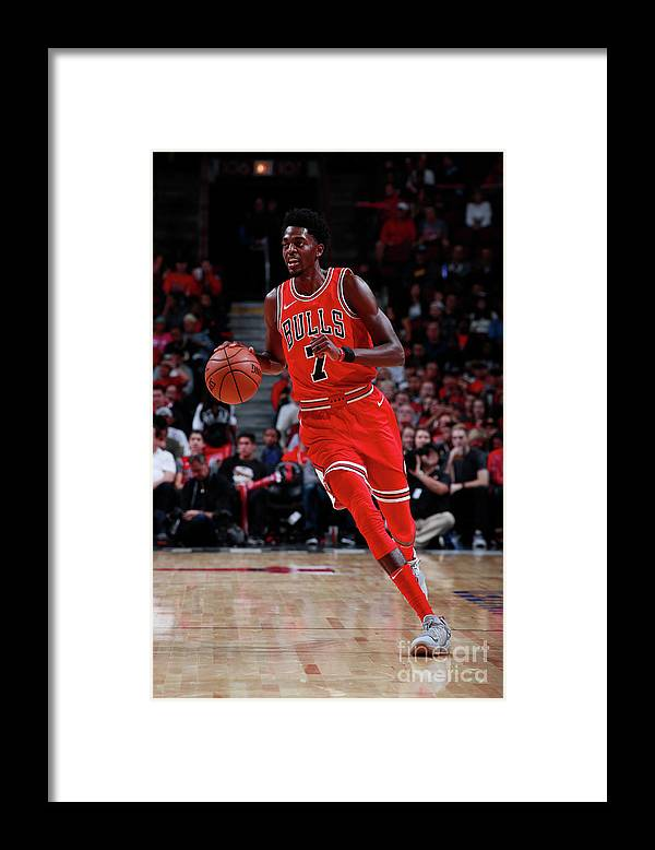 Nba Pro Basketball Framed Print featuring the photograph Justin Holiday by Jeff Haynes