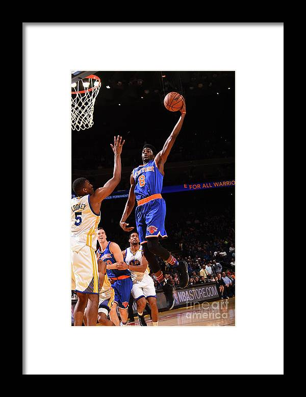 Nba Pro Basketball Framed Print featuring the photograph Justin Holiday by Noah Graham