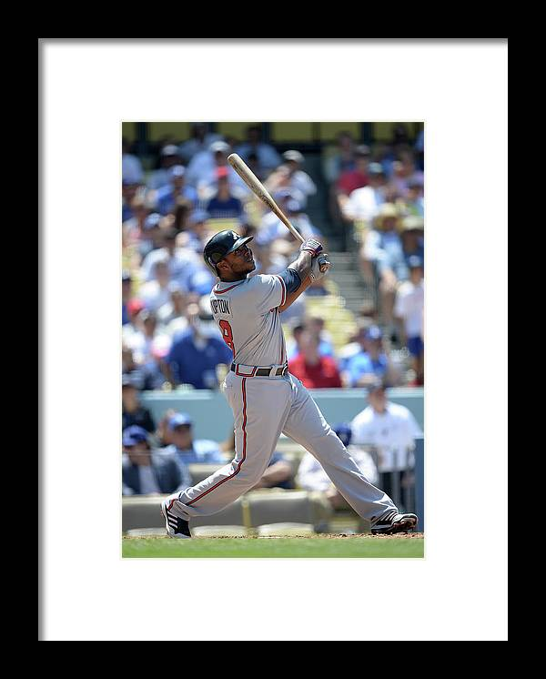 American League Baseball Framed Print featuring the photograph Justin Upton by Harry How