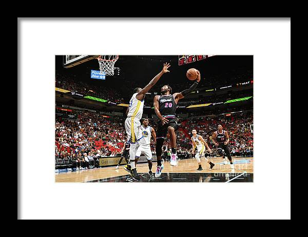 Justise Winslow Framed Print featuring the photograph Justise Winslow by Jesse D. Garrabrant