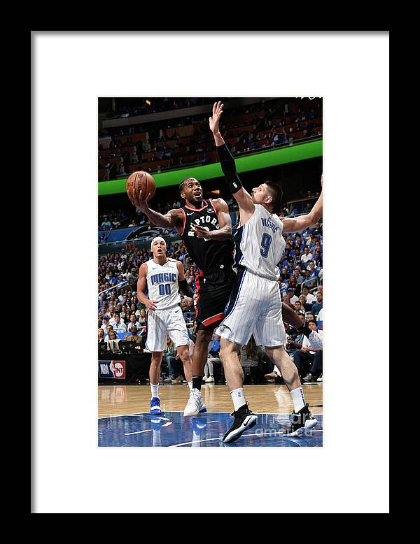 Playoffs Framed Print featuring the photograph Kawhi Leonard by Gary Bassing