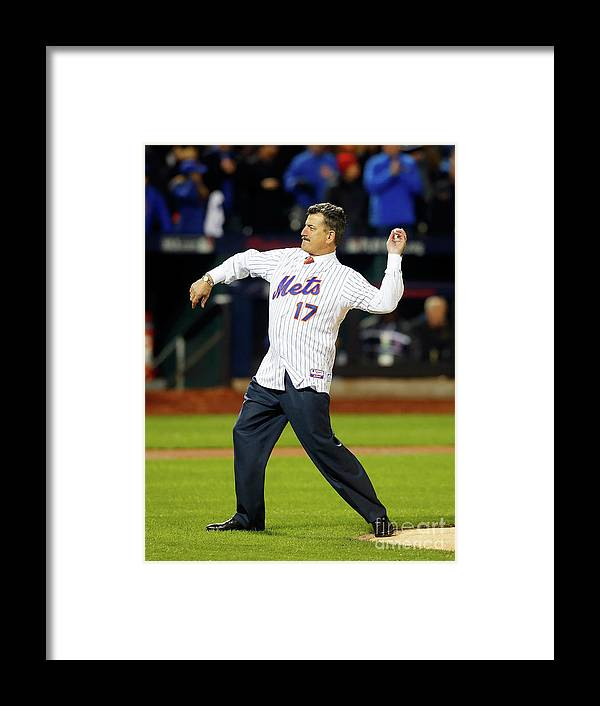 People Framed Print featuring the photograph Keith Hernandez by Jim Mcisaac