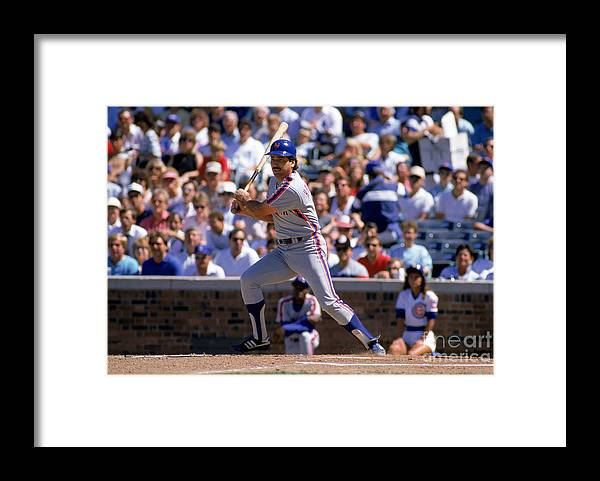 1980-1989 Framed Print featuring the photograph Keith Hernandez by Jonathan Daniel