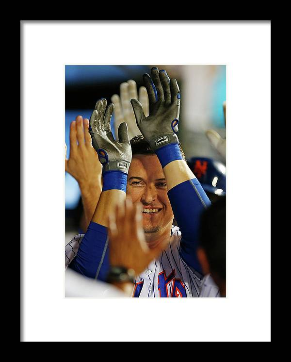 Ninth Inning Framed Print featuring the photograph Kelly Johnson by Rich Schultz