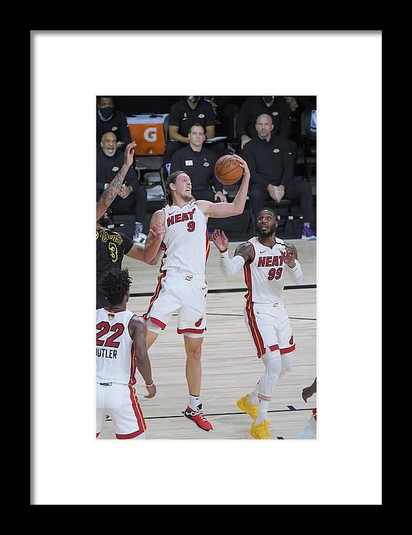 Playoffs Framed Print featuring the photograph Kelly Olynyk by Fernando Medina