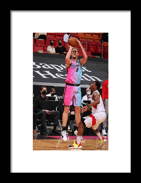 Nba Pro Basketball Framed Print featuring the photograph Kelly Olynyk by Issac Baldizon