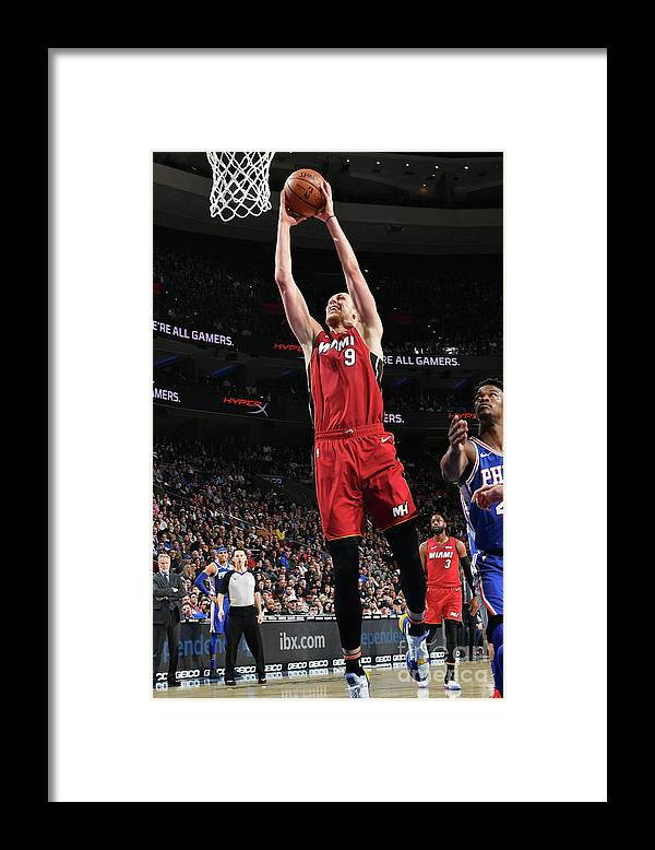 Nba Pro Basketball Framed Print featuring the photograph Kelly Olynyk by Jesse D. Garrabrant