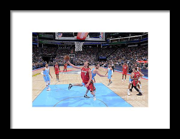 Nba Pro Basketball Framed Print featuring the photograph Kelly Olynyk by Rocky Widner