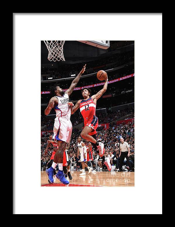Nba Pro Basketball Framed Print featuring the photograph Kelly Oubre by Andrew D. Bernstein