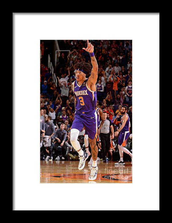 Nba Pro Basketball Framed Print featuring the photograph Kelly Oubre by Barry Gossage