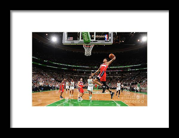 Nba Pro Basketball Framed Print featuring the photograph Kelly Oubre by Brian Babineau