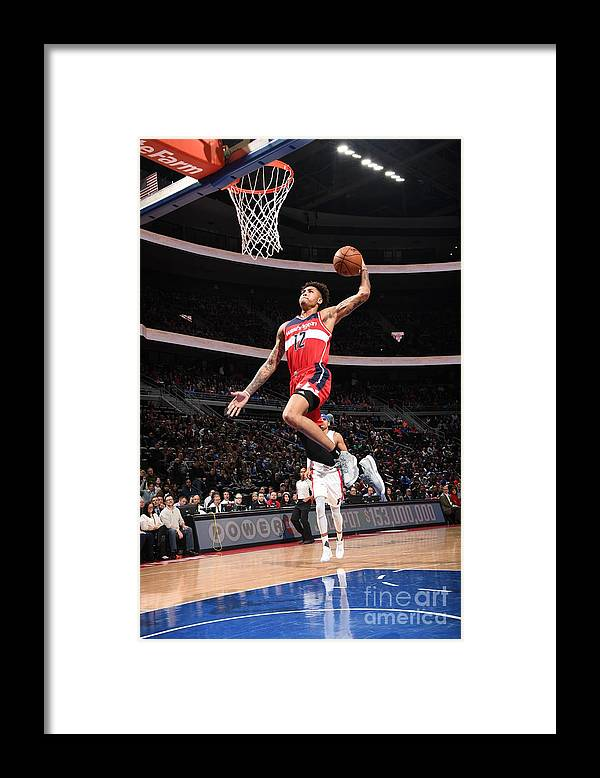 Nba Pro Basketball Framed Print featuring the photograph Kelly Oubre by Chris Schwegler