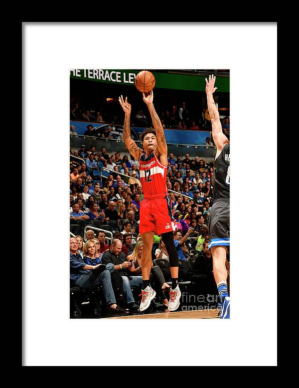 Nba Pro Basketball Framed Print featuring the photograph Kelly Oubre by Fernando Medina