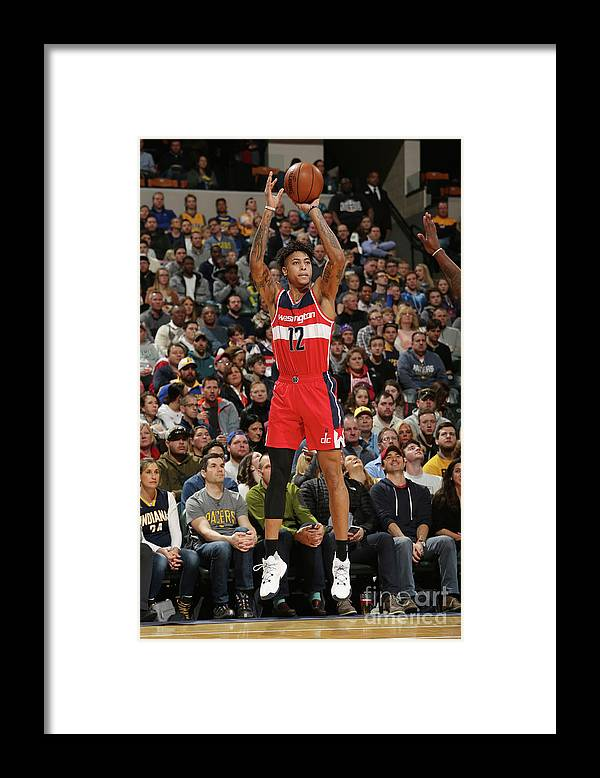 Nba Pro Basketball Framed Print featuring the photograph Kelly Oubre by Gary Dineen
