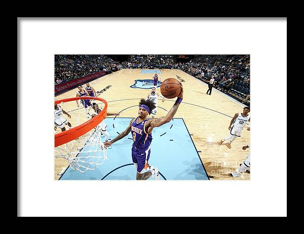 Nba Pro Basketball Framed Print featuring the photograph Kelly Oubre by Joe Murphy