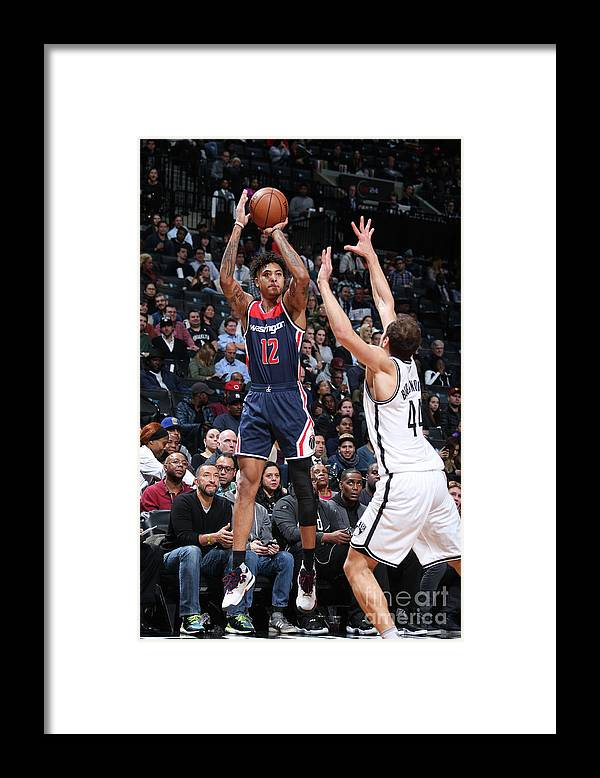 Nba Pro Basketball Framed Print featuring the photograph Kelly Oubre by Nathaniel S. Butler