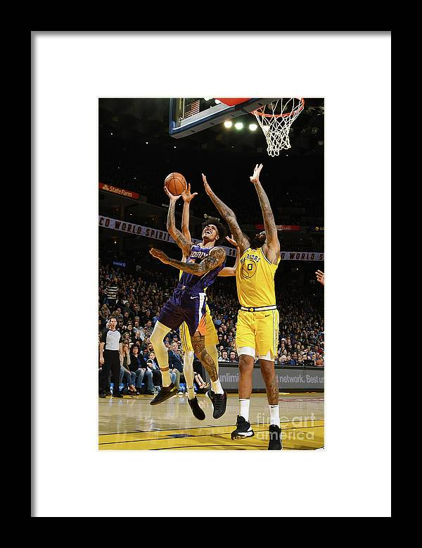Nba Pro Basketball Framed Print featuring the photograph Kelly Oubre by Noah Graham