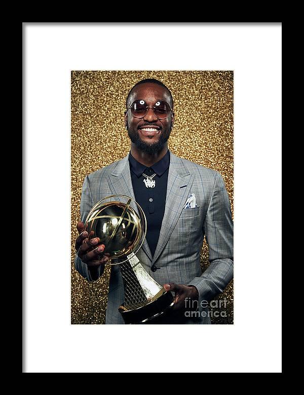 Kemba Walker Framed Print featuring the photograph Kemba Walker by Jennifer Pottheiser