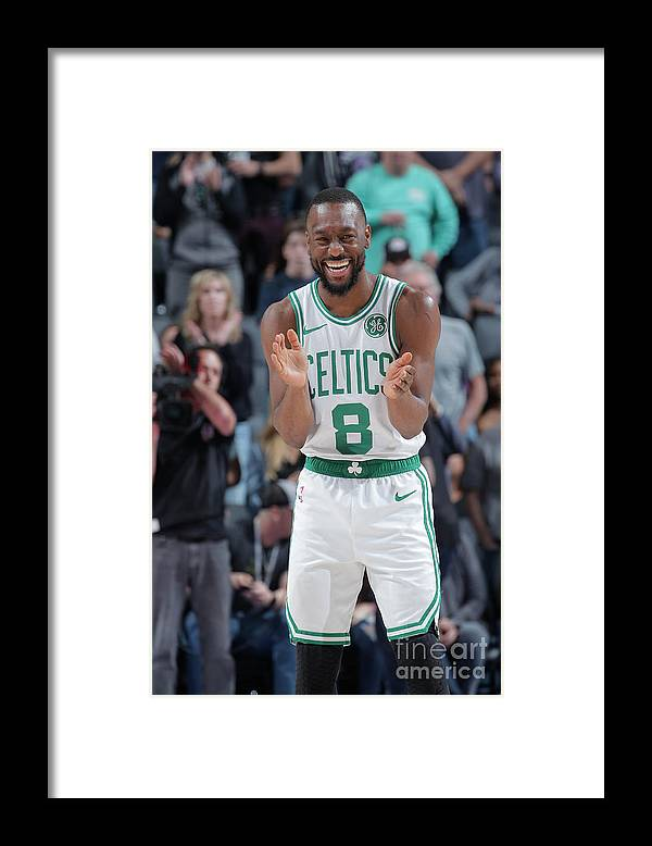 Kemba Walker Framed Print featuring the photograph Kemba Walker by Rocky Widner